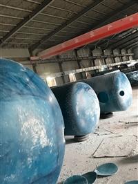 化粪池玻璃钢一体化污水处理厂家