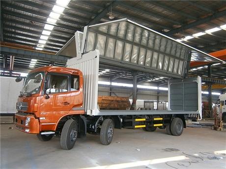 保定国六飞翼车价格 东风天锦7.7米 8.6米飞翼式厢式货车厂家