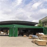 汕头龙湖可移动式雨篷 篮球场推拉棚