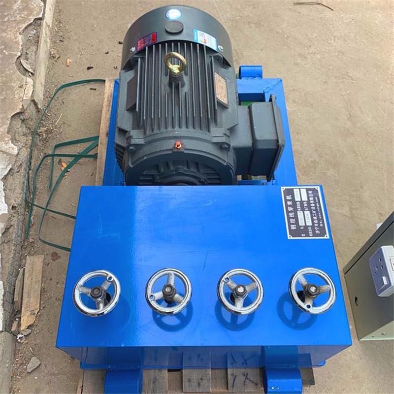 山西晋中 厂家预应力钢绞线穿束机型号 60米钢绞线穿线机