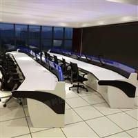 定制电力监控台 电力控制台 十席位指挥席厂家