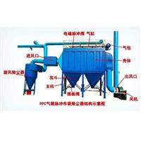 气力输送系统流程图 螺旋气力输送 汇众机械小旋风粉末回收系统