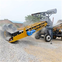 注塑机自动上料650方玉米小麦全自动铲取料装车机 圣能机械圆