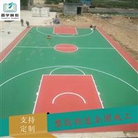 硅pu篮球场 塑胶硅PU球场施工