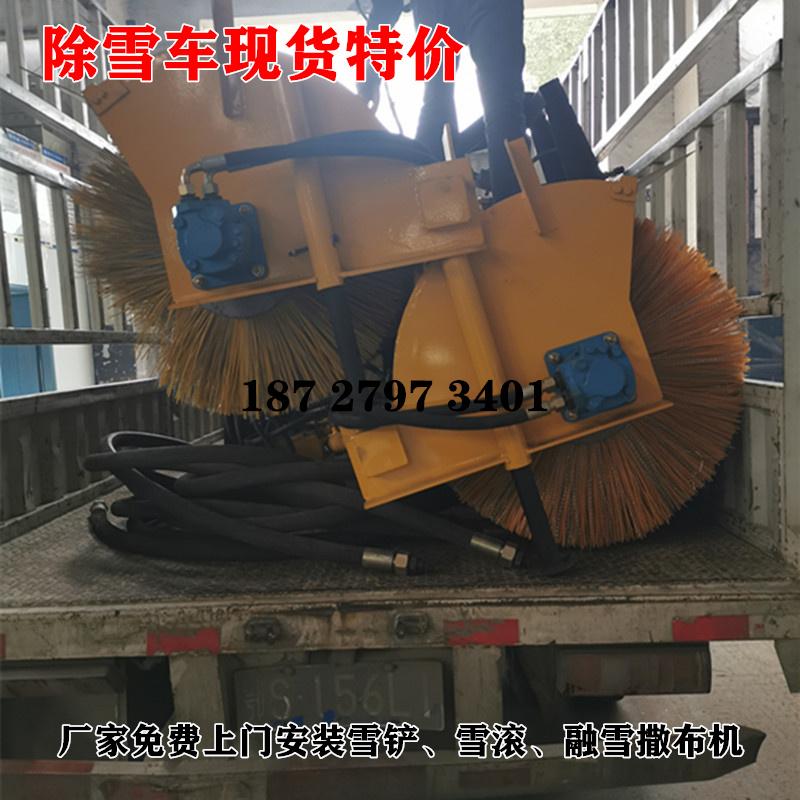 保定遼寧除雪車配件 加裝3米雪滾現貨