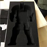 定制高密度海绵内衬 黑色泡棉包装工厂