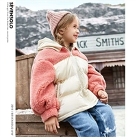 喔也新款品牌童装冬装羽绒服 品牌折扣童装 实体直播货源品牌