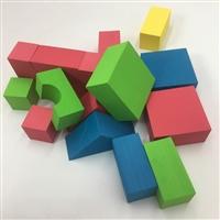 异型EVA儿童玩具eva泡绵积木套装eva块批发