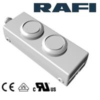 RAFI进口E-BOX德国M12急停按钮开关盒1.22.392.392