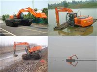 河南三门峡水陆挖掘机出租型号-