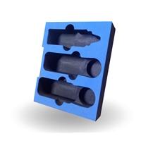 定制黑色EVA环保泡棉雕刻成型eva电子包装厂家