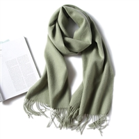 2020披肩围巾两用 秋冬纯色加厚厂家批发 羊毛围巾
