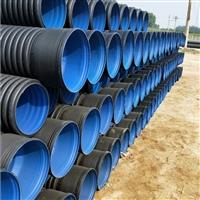 河南国标波纹管河南HDPE双壁波纹管排水管