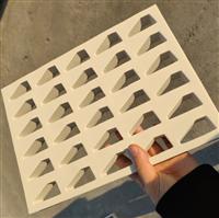 防震包装海绵内托加工