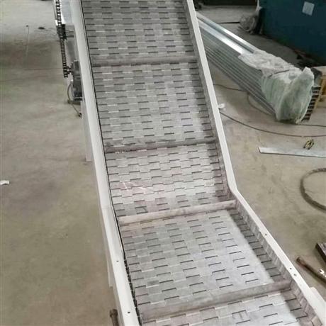 爬坡机-食品链板爬坡输送机厂家全新