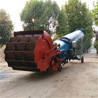 臂式斗輪堆取料機優點 200方沙場石子場全自動鏟取料裝車機
