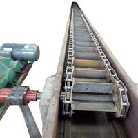 水平爬坡皮带输送机Facai甘蔗链式输送机