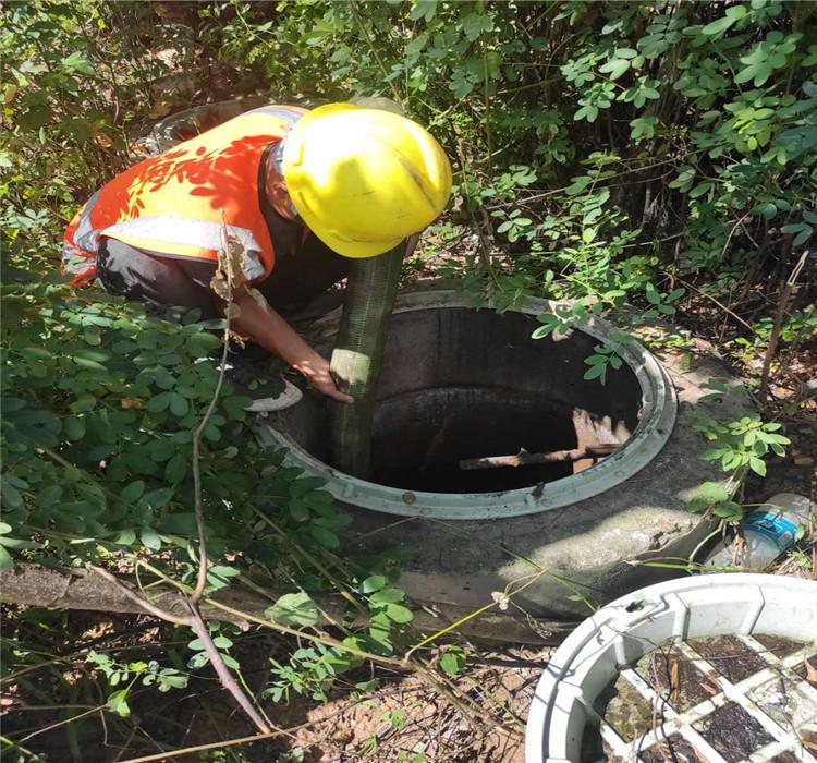 沙田高压清洗车管道疏通化粪池清理 市政管道清淤