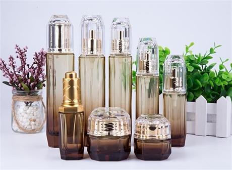 化妝品玻璃瓶 化妝品膏霜瓶廠家 拉管瓶加工廠