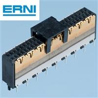 50针ERNI高速连接器PCB垂直式224515表面贴片MicroSpeed