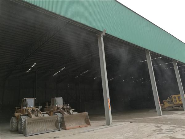 喷雾除尘 采矿工地除尘设备 碎石厂除尘