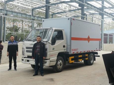 贵州江铃民爆器材专用车源头厂家直接销售