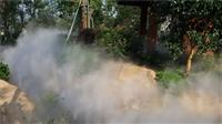 鹏城人造雾设备 人造雾景观