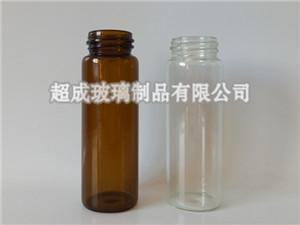 螺旋口管制玻璃瓶A河北螺旋口管制玻璃瓶廠家