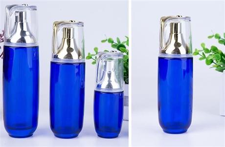白色化妝品玻璃瓶 化妝品瓶子供應商 護膚品包材