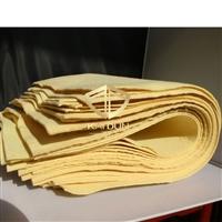 隔热防火针刺芳纶阻燃无纺布 芳纶毛毡布 耐高温防火棉垫