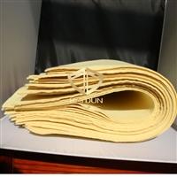 芳纶毛毡布 保温隔热加强材料 1414黄色阻燃布