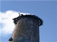 南昌砖烟囱定向拆除人工拆除、加高-华鑫高空