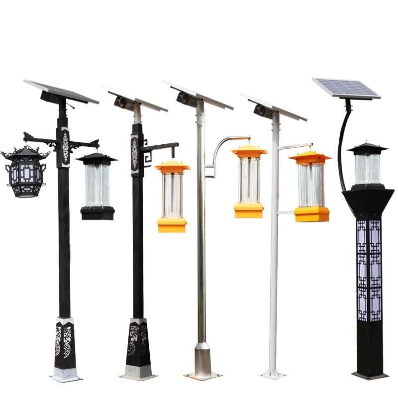 成都太阳能杀虫灯厂家户外led防蚊灯杀虫灯驱蚊神器