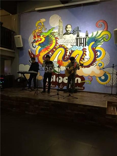 江苏墙绘南京轻吧酒吧 墙体彩绘手绘涂鸦艺术绘图