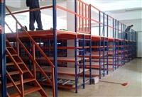 無錫閣樓貨架源頭生產廠   定製批發橫梁貨架   設計重型閣樓平台