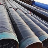 甘肃燃气管线用3PE防腐钢管 缠绕式3PE防腐钢管说明 友都管道厂