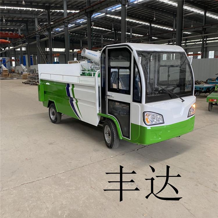 许昌定做电动尾板垃圾桶运输车多少钱