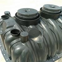 三格化粪池生产厂家 三格化粪池管道材质 三格式化粪池桶第三格