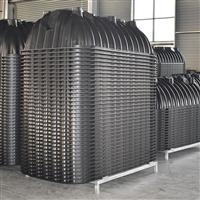 河南塑料三格化粪池  污水口排管厂家   一体三格式