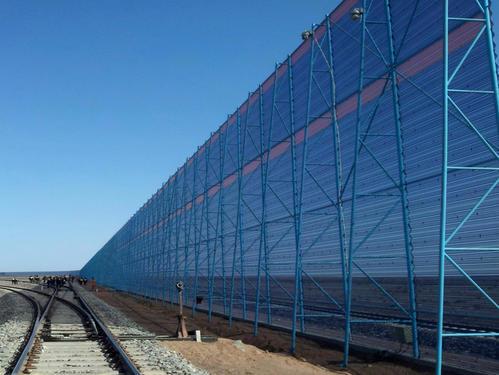 煤场防风抑尘网生产厂家 搅拌厂防尘网