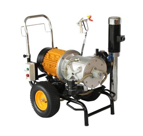 三轴两盘往复机 自动喷涂机省漆 多轴往复机 环保型喷漆设备厂家