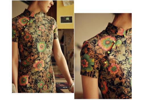 品牌女装专柜* 汉服 旗袍 连衣裙女装货源 南宁服装批发市场