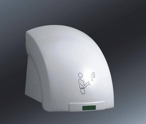 自動感應干手器廣州芊菊不銹鋼干手機烘手器公廁凈手器手部烘干機