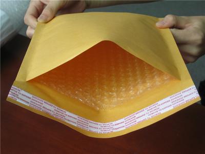 牛皮纸气泡袋气泡信封袋黄色纸袋