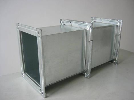 青岛不锈钢镀锌板通风管道制作