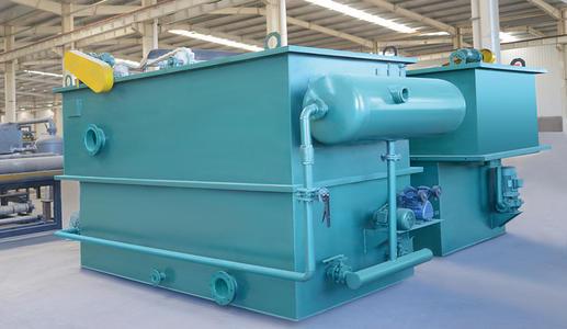 溶气式气浮刮渣机涡凹平流式气浮机