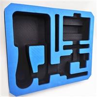 东莞定制工具套装EVA防静电托盘 蓝色高发泡雕刻eva内衬