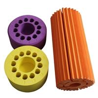 线切割EVA海绵异形定制齿轮形状EVA玩具泡棉积木批发