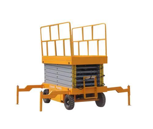 移动式升降机 剪叉式高空作业平台车 电动登高车