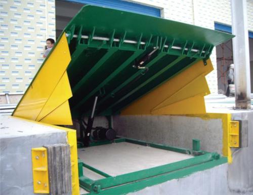 创硕 移动式液压登车桥 集装箱仓储液压装卸货平台